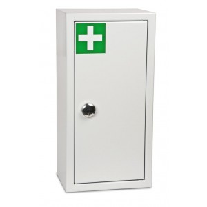 1 Door High Security Medical Cabinet - 532H 374W 230D (mm)