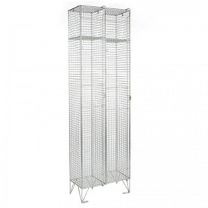 1 Door Mesh Locker Nest of 2