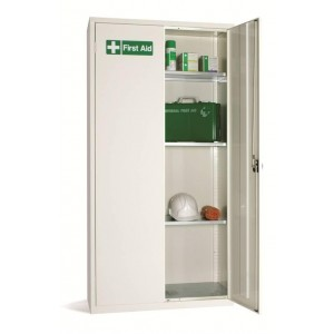 2 Door Large Medical Cabinet - 1830H 915W 457D (mm)