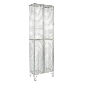 2 Door Mesh Locker Nest of 2