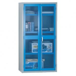 2 Door Mesh Cabinet - 1830H 915W 459D (mm)