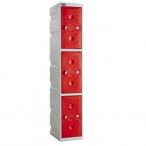 3 Door Probe Ultra Box Locker