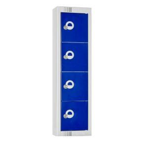 Elite 4 Door Personal Effects Locker - 920H 250W 160D (mm)
