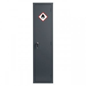 Premium Grey Highly Flammable Cabinet - 1830H 459W 459D