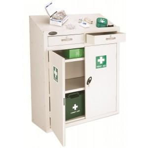 Probe Metal Medical Lectern Cabinet - 1060H 915W 460D