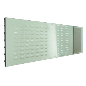 Combi - Panel Louvre, Perforated & Pin Board for Euroslide Work Benches for 1500mm Wide Bench