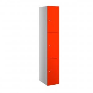3 Door Probe Buzzbox Laminate Door Locker - 1780H 305W 470D (mm)