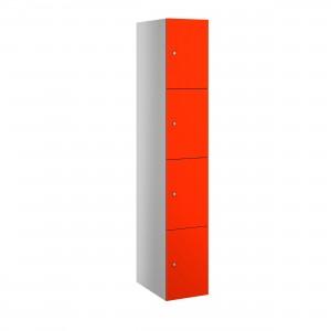 4 Door Probe Buzzbox Laminate Door Locker - 1780H 305W 470D (mm)