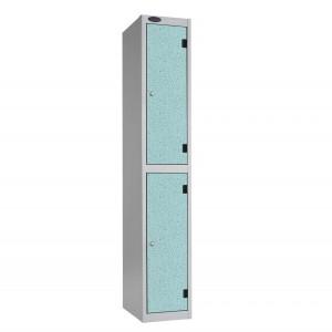 2 Door Probe Inset Shockproof Locker