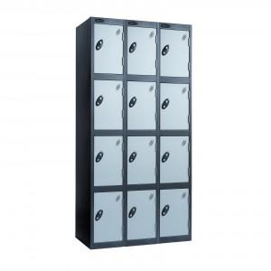 4 Door Probe Locker Nest of 3 - 1780H 915W 305D