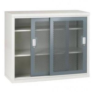 Sliding Door Mesh Cabinet