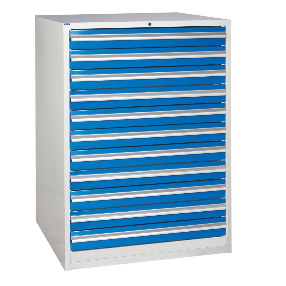 11 Drawer Euroslide Workshop Cabinet - 1200H 900W 650D