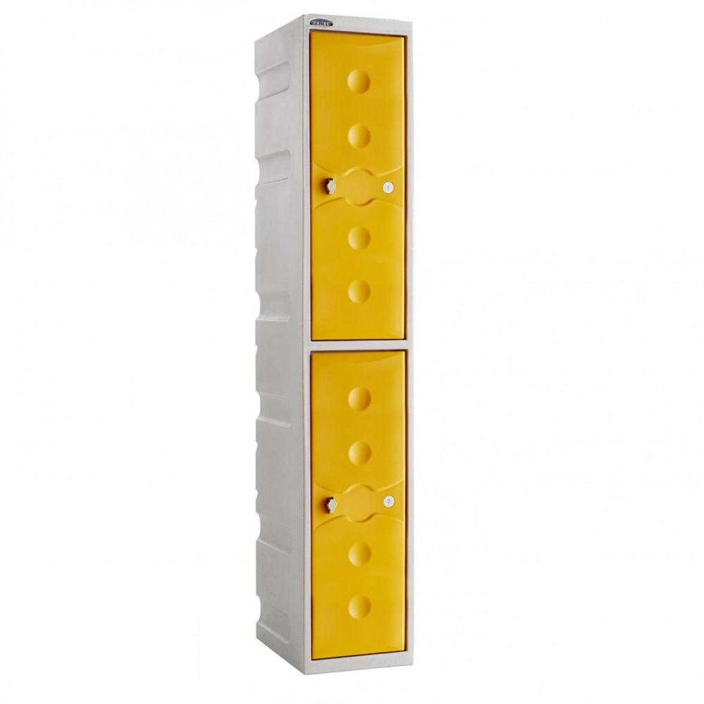 2 Door Probe Ultra Box Locker - Orange