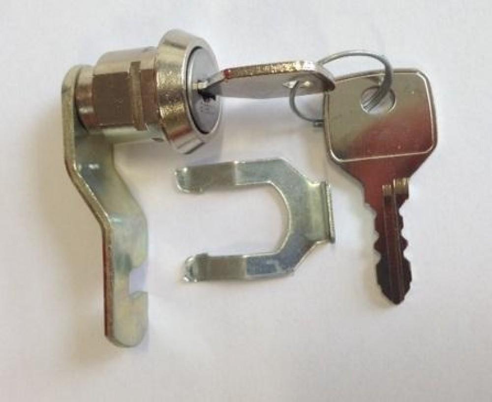 Biocote Locker Hooked Cam Lock