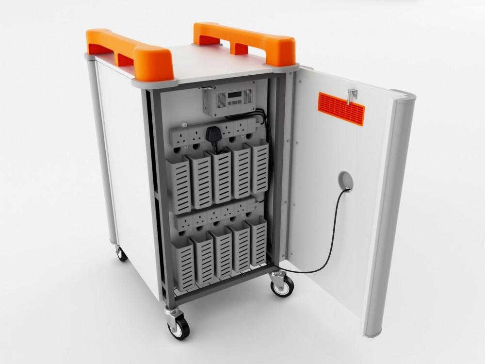 Portable Pc Storage : Lapcabby vertical portable laptop storage
