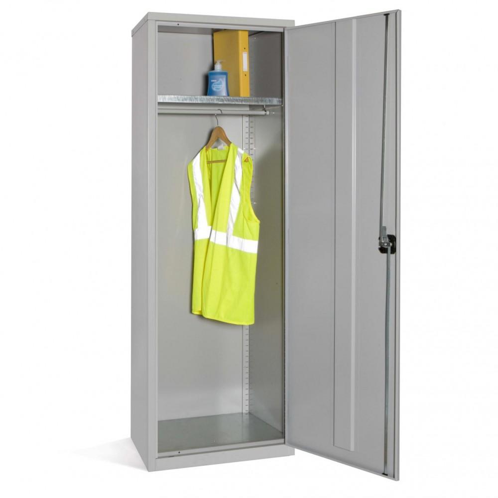 Slim Wardrobe Cupboard - 1830h x 610w x 457d (mm)