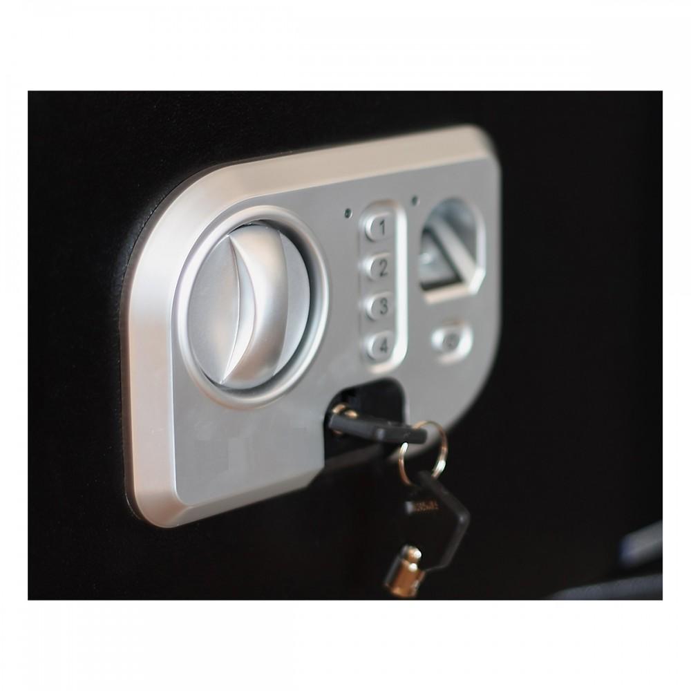 Phoenix Neso SS0202F -Biometric Fingerprint Locking Safe - 300mm x 375mm x 300mm (H x W x D)