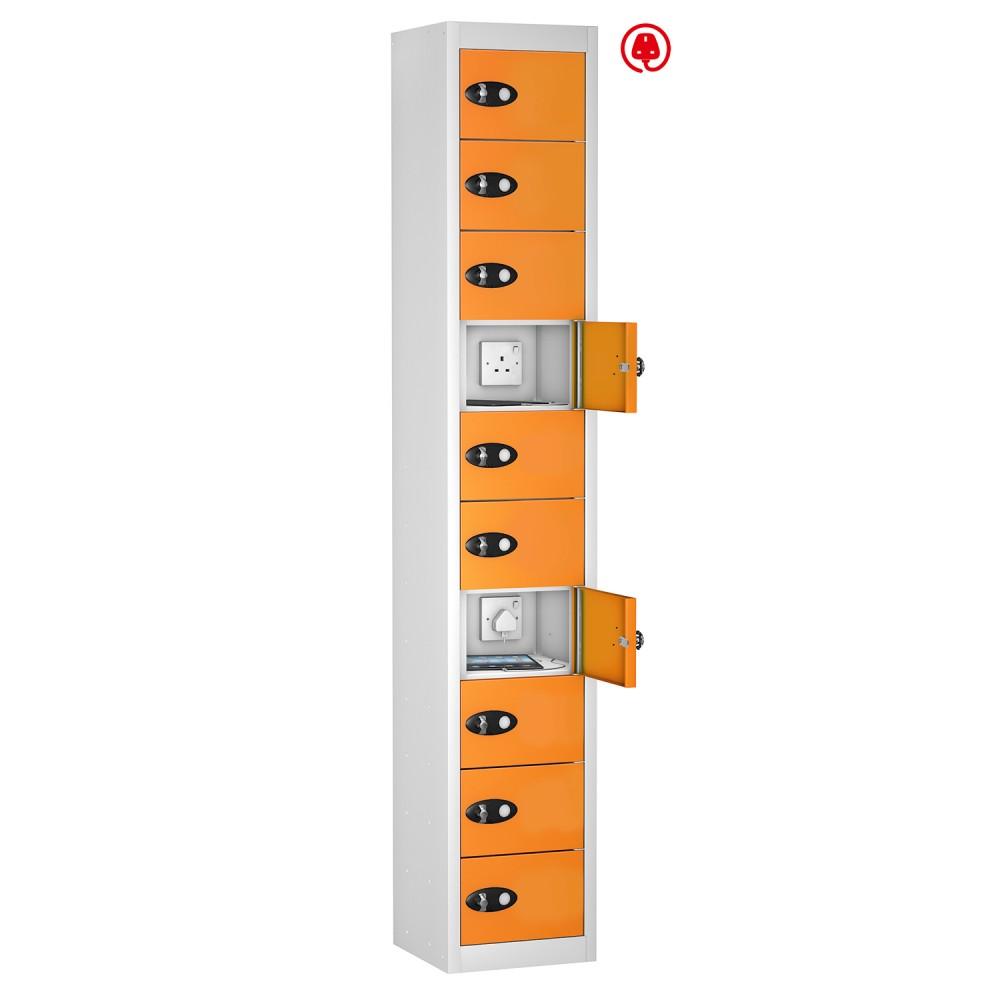 Probe tabbox 10 door 10 compartment tablet charging locker for 10 door
