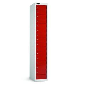 16 Door Probe Locker - 1780H 305W 460D (mm)