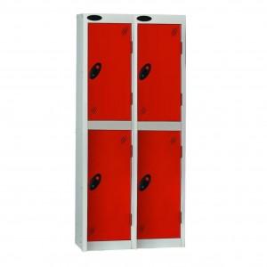 2 Door Probe Low Locker Nest of 2 - 1220H 610W 460D