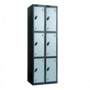 3 Door Probe Locker Nest of 2 - 1780H 610W 460D