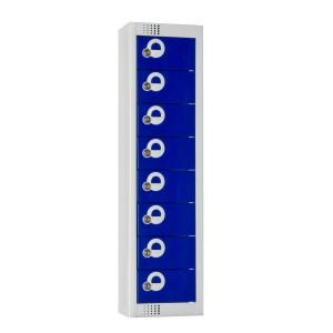8 Door Elite Personal Effects Locker - 920H x 250W  x 160D