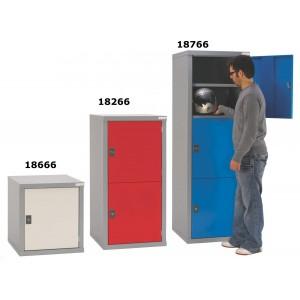 Heavy Duty Tough Cube Lockers - 665H 600W 600D (mm)
