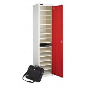 Probe 1 Door 15 Shelf Non-Charging Media Locker - 1780H 380W 460D (mm)