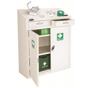 Probe Metal Medical Lectern Cabinet - 1060H 915W 460D