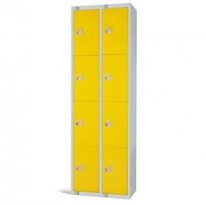 Elite Four Door Locker Nest of 2 - 1800H 600W 450D