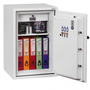 Phoenix Fire Fighter FS0442E Size 2 Fire Safe with Electronic Lock - 820mm x 520mm x 520mm (H x W x D)