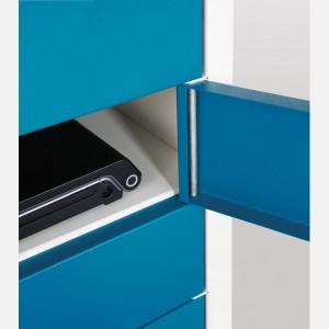 Probe 15 Door Charging Media Locker - 1780H 380W 525D (mm)