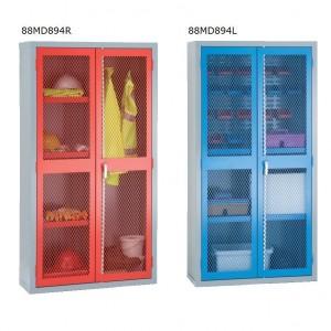 2 Door Mesh Cabinets