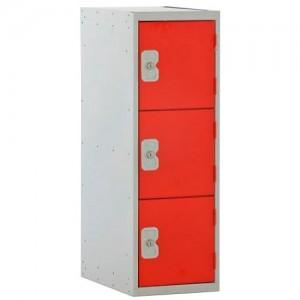 3 Door Link Half Height Locker - 896H 450W 450D (mm)