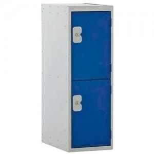 2 Door Link Half Height Locker - 896H 300W 450D (mm)